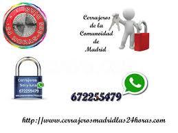 Cerrajeros Serrano 24 Horas Tel : 601441167 Whatsapp . Aperturas de Puertas , Pto Visita 0€ Aceptamos Visa Cerrajeros Madrid 24 Horas y Cerrajeros en Centro Madrid.