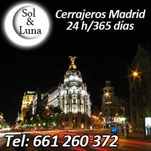 Cerrajeros Fuencarral 24 Horas Tel : 601441167 ✅ . Realizamos aperturas de Puertas Urgentes , Montaje de cerraduras y Cerrojos en el Centro Madrid.